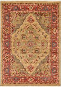 Classic Carpet Border Area Rug Oriental Large Carpet Heriz ...