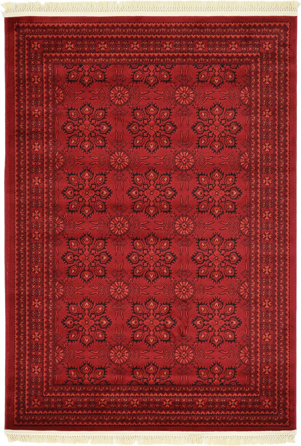 Traditional Rug Oriental Area Rug Bokhar Rugs Persian Style Red Carpets New Rug