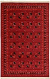 Traditional Red Rug New Area Rug Oriental Persian Classic ...