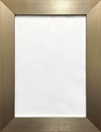Photo Picture Poster Frame Modern Flat Brushed Finish Wide