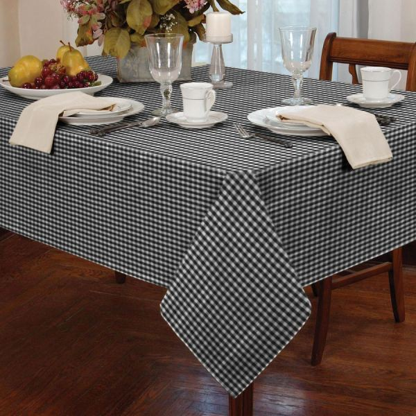 Country Style Gingham Check Table Cloth Square