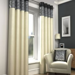 Red And Cream Curtains For Living Room Small Bars Skye Fully Lined Modern Eyelet Ring Top Ready ...