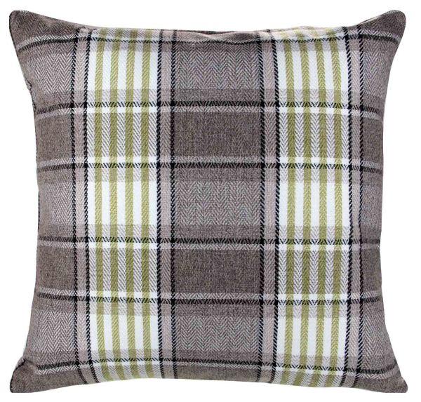 """Carlyle Tartan Plaid Check Cushion Cover 18"""" X 18"""