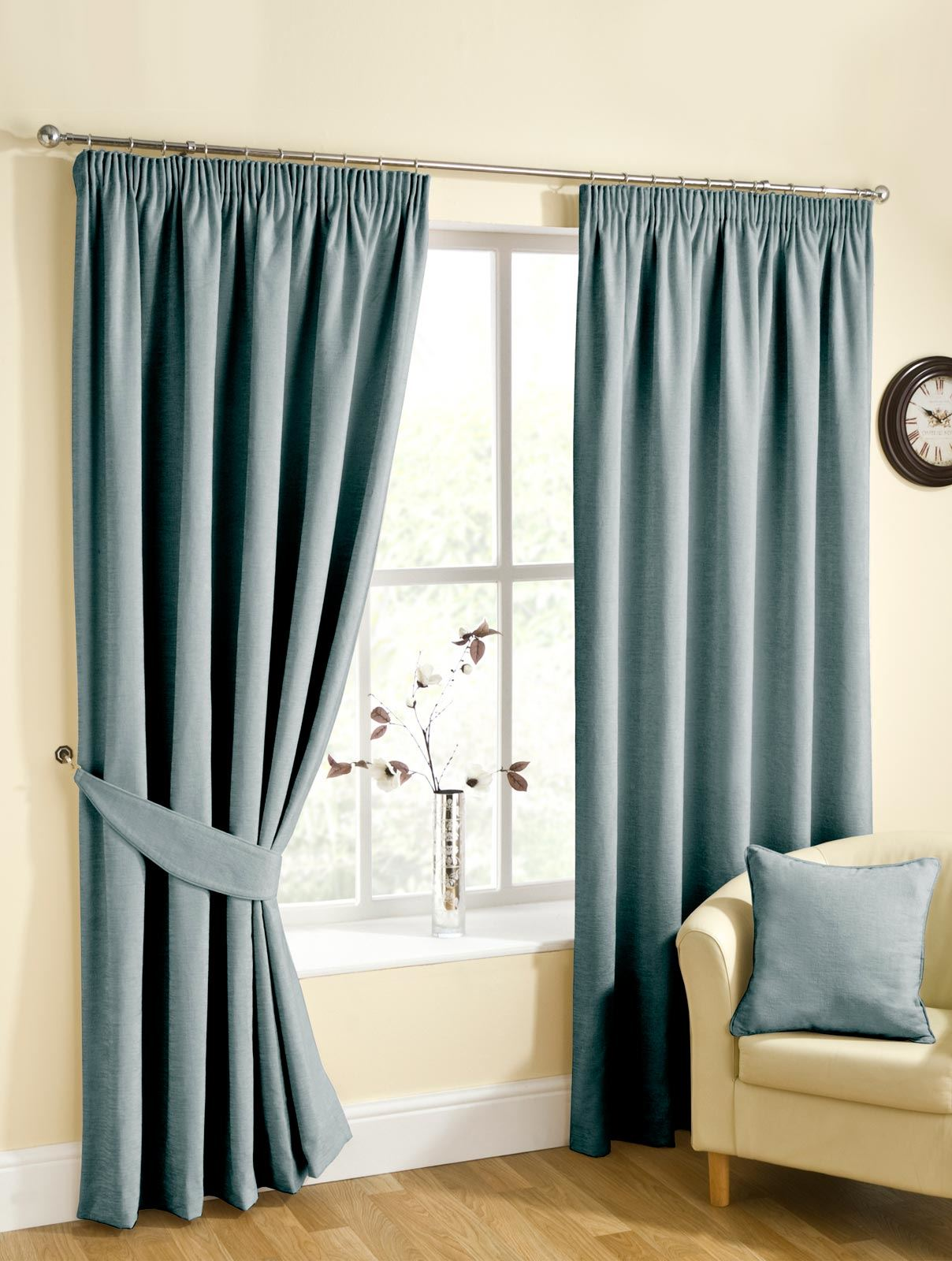 RICO CHENILLE LINED CURTAINS READY MADE TAPE TOP CURTAIN PAIRS  eBay
