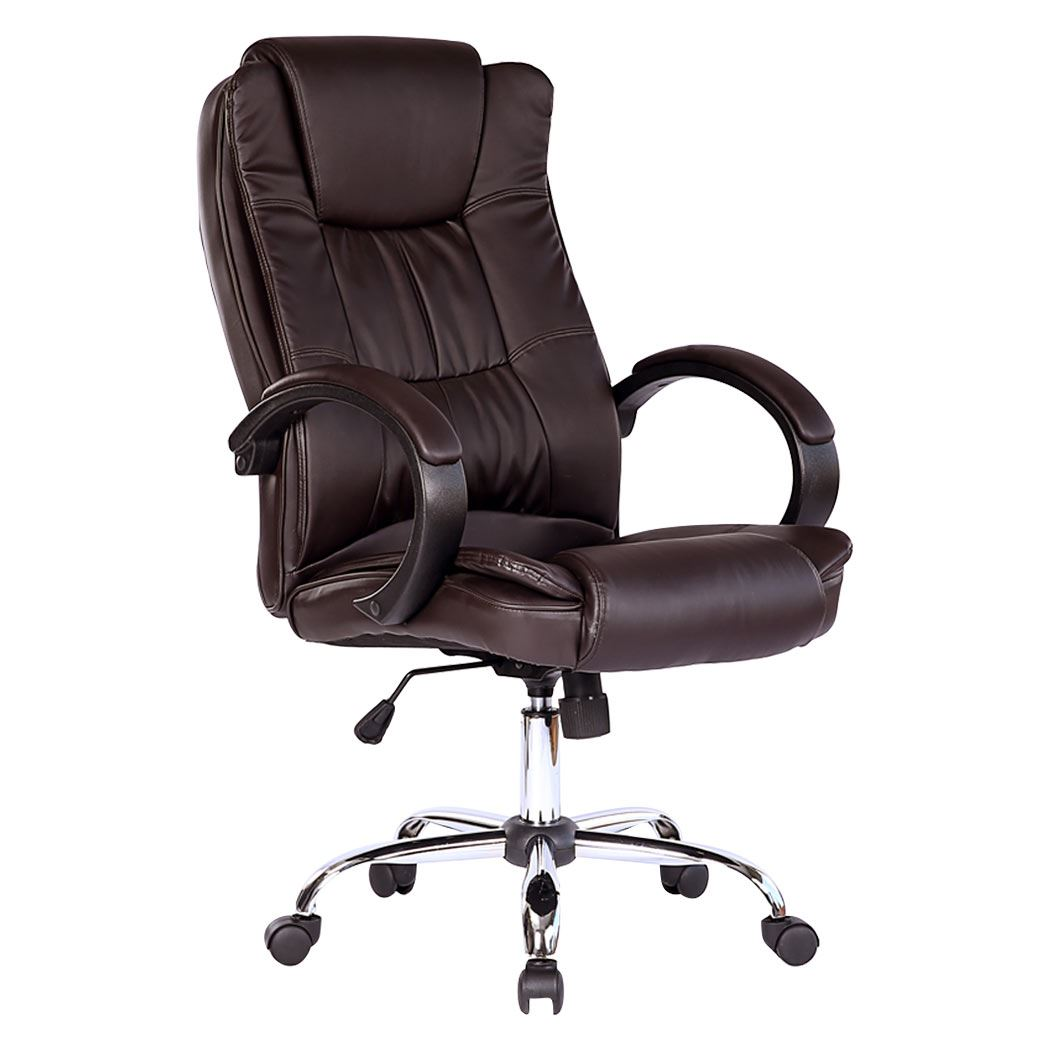 Laptop Chair Santana High Back Executive Office Chair Leather Computer