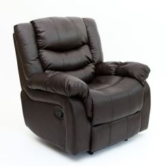 Reclining Gaming Chair Cool Modern Office Chairs Seattle Leather Recliner Armchair Sofa Home Lounge