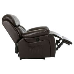 Electric Recliner Sofa Not Working 72 Inch Sofas Chester Heated Leather Massage Chair
