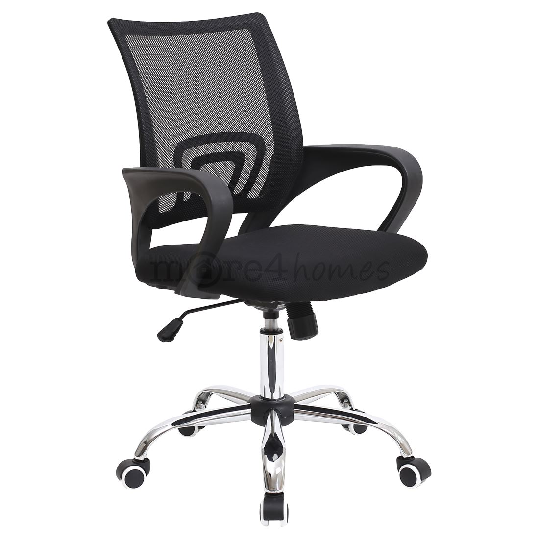 office chair armrest eddie bauer rocking metro mesh medium back with armrests computer