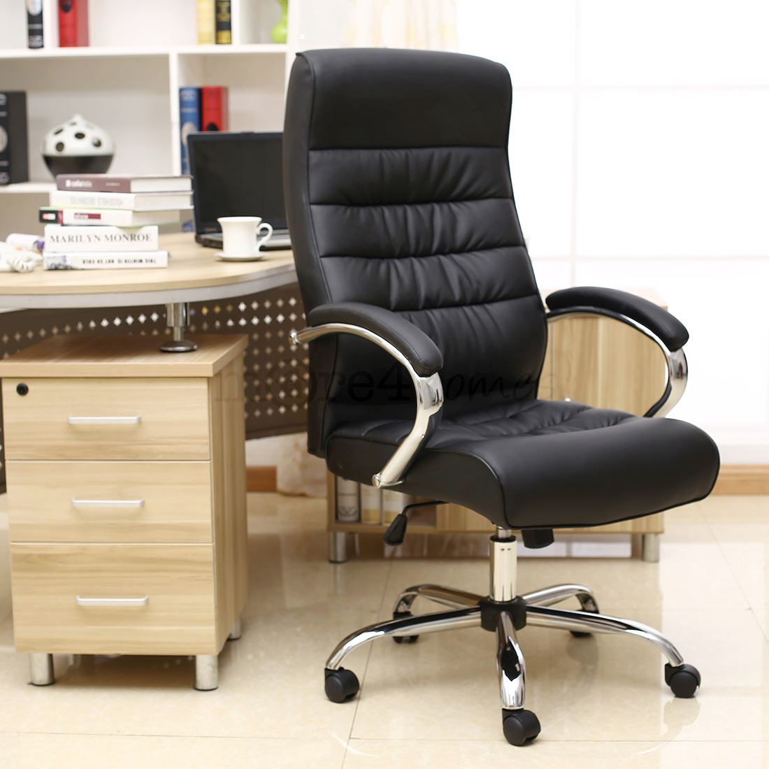 posture executive leather chair heated seat covers office mexico premium high back