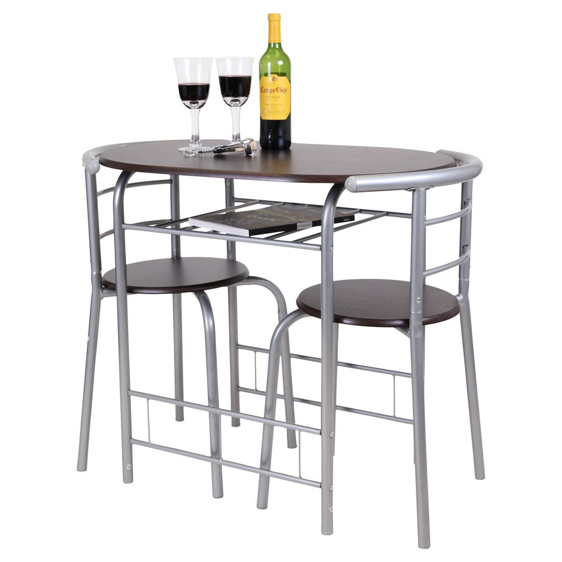 2 chair bistro set u shaped chicago 3 piece dining table and breakfast
