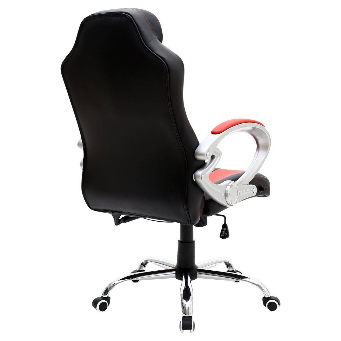 swivel chair for car luxury bean bag chairs monaco black red gaming sports seat home office