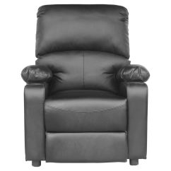 Sofa Armchair Drink Holder Caddy Kanes Power Kino Real Black Leather Recliner W Holders