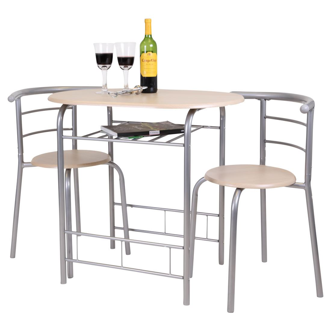 3 piece kitchen table bistro chicago dining and 2 chair set breakfast