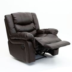 Recliner Gaming Chair Covers For Bar Chairs Seattle Leather Armchair Sofa Home Lounge