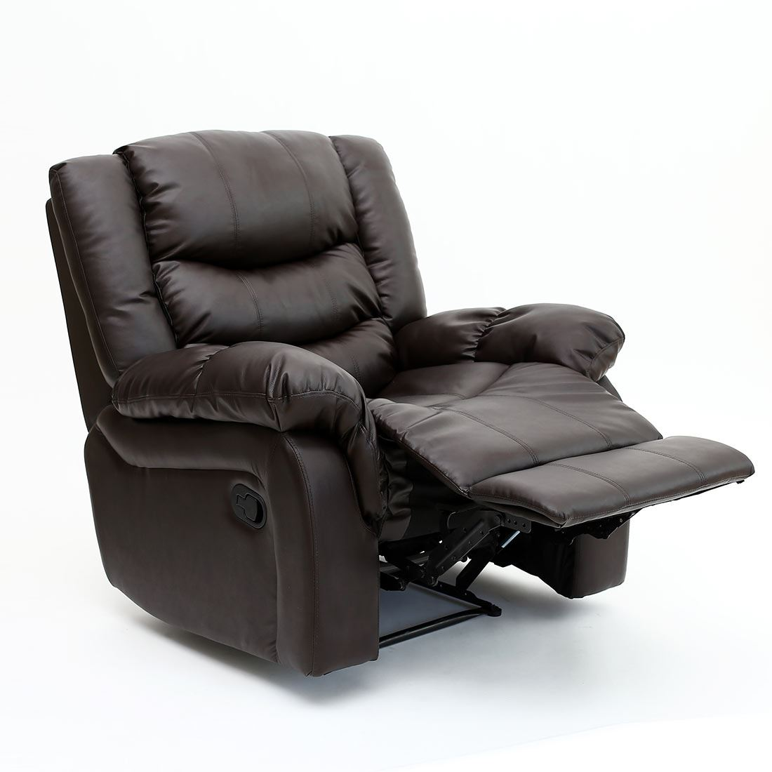 reclining gaming chair office buy seattle leather recliner armchair sofa home lounge