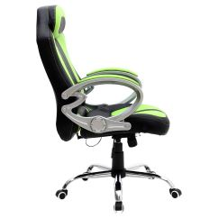 Swivel Chair For Car White Ladder Back Chairs Monaco Gaming Sports Seat Home Office Reclining