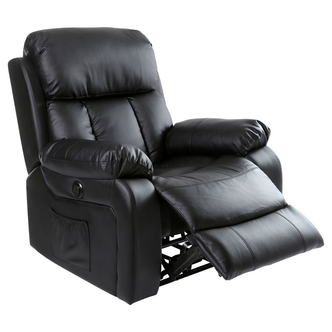 massage gaming chair outdoor swing replacement covers chester electric heated leather recliner
