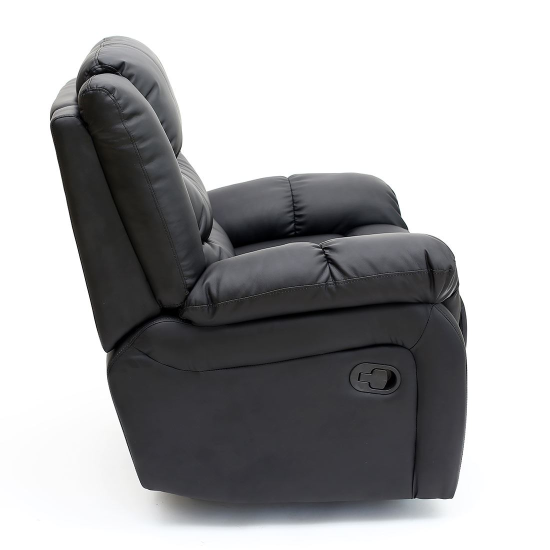 reclining gaming chair chairs for home seattle leather recliner armchair sofa lounge