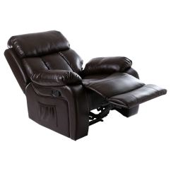 Gaming Lounge Chair Outdoor Folding Chairs Walmart Chester Heated Leather Massage Recliner Sofa