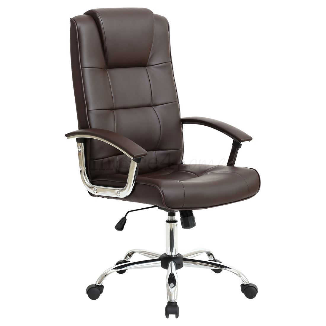 Leather Office Chairs Grande High Back Executive Leather Office Chair Computer