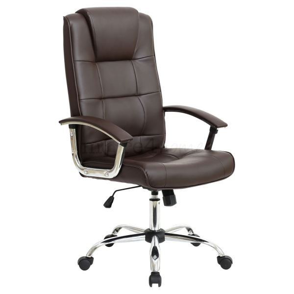 Grande High Executive Leather Office Chair Computer Desk Furniture