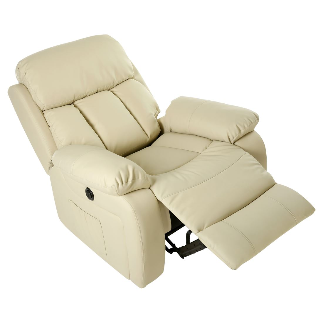 heated sofa recliner shallow sectional chester electric leather massage chair