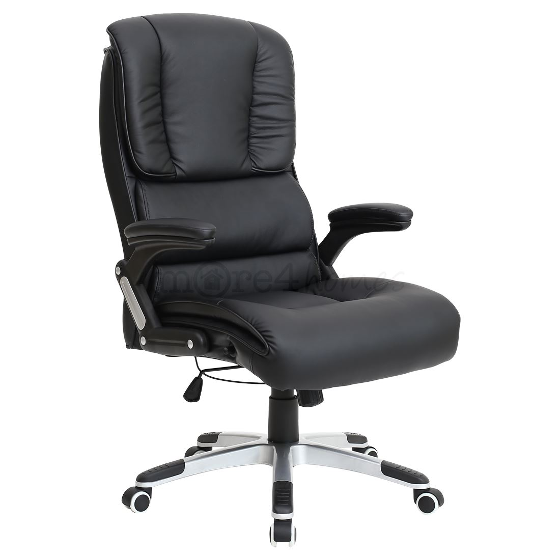 Comfy Office Chair Santiago Super Comfortable Faux Leather Office Swivel