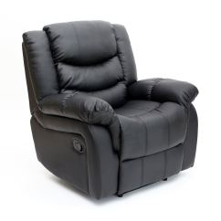 Recliner Gaming Chair French Arm Chairs Seattle Leather Armchair Sofa Home Lounge