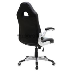 Office Chair Adjustable Arms Stackable Resin Chairs Cruz Sport Racing Car Leather