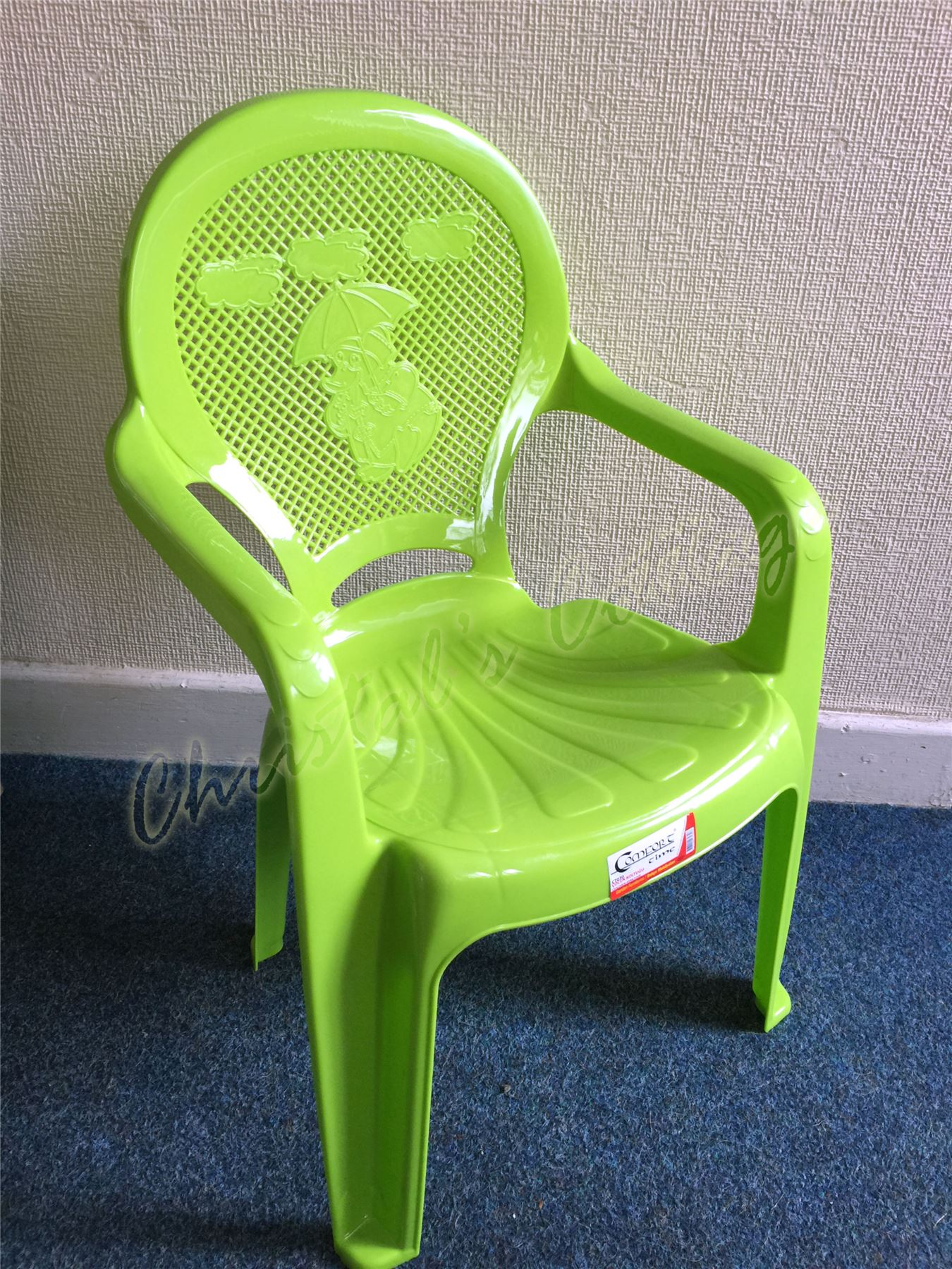 Plastic Toddler Chairs Kids Children Plastic Indoor Outdoor Stackable Garden