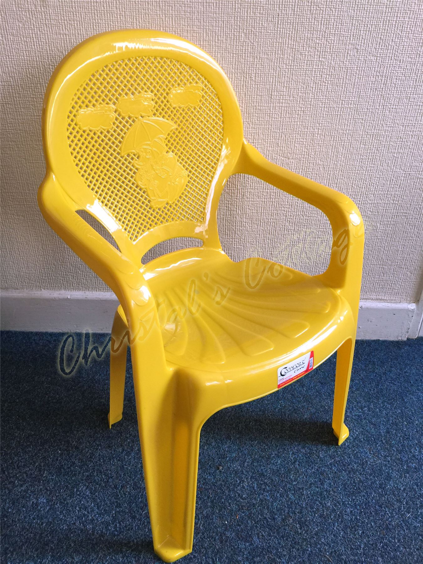 Child Patio Chair Kids Children Plastic Indoor Outdoor Stackable Garden