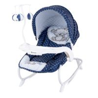 New Baby Swinging Bouncer Chair Rocker Hood Canopy Toybar ...