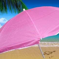 Portable Beach Chair With Umbrella Folding Dining Chairs Foldable Just Seat And Relax