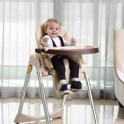 Compact High Chair Recliner For Child Velu Baby Highchair Feeding