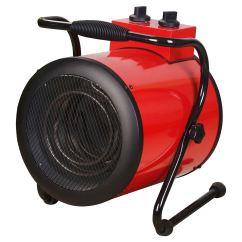 Electric Fan Heaters Blue Sea Systems Wiring Diagram 2kw 3kw Industrial Workshop Shed Garage