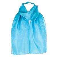 Plain Pure Silk Scarf Shawl Wrap | eBay