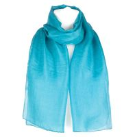 Plain Pure Silk Scarf Shawl Wrap | eBay
