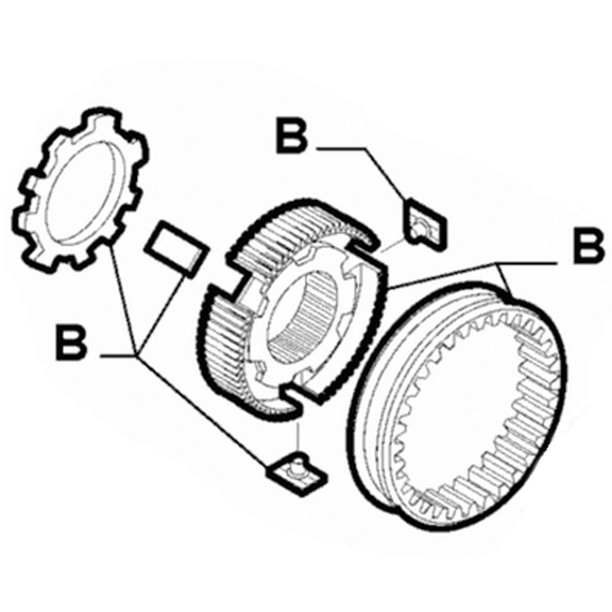 Fiat Punto Bravo Croma M32/M20 6 Speed Transmission 1st