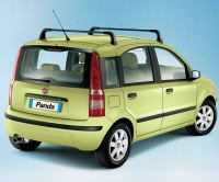 Fiat Panda 03-11 Genuine Cross Roof Bars Rack without ...