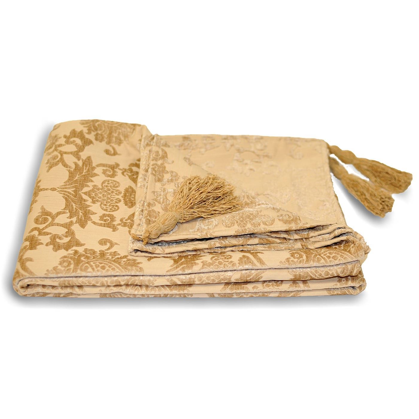 gold throws for sofas 2 seater red leather sofa bed blanket throwovers throw over chenille chair