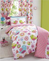 Girls Childrens Quilt Duvet Cover & Pillowcase Bedding ...