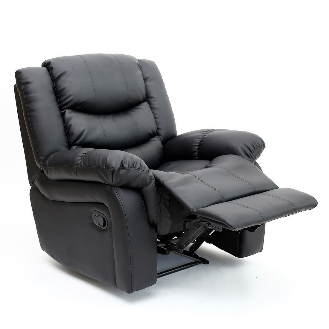 reclining gaming chair chaise lounge with storage seattle leather recliner armchair sofa home