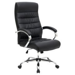 Office Chair Posture Tips Barber Hydraulic Pump Mexico Premium High Back Executive Leather