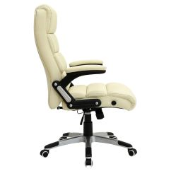 Luxury Office Chairs Uk Chair Covers For Holidays Havana Cream Reclining Executive Leather