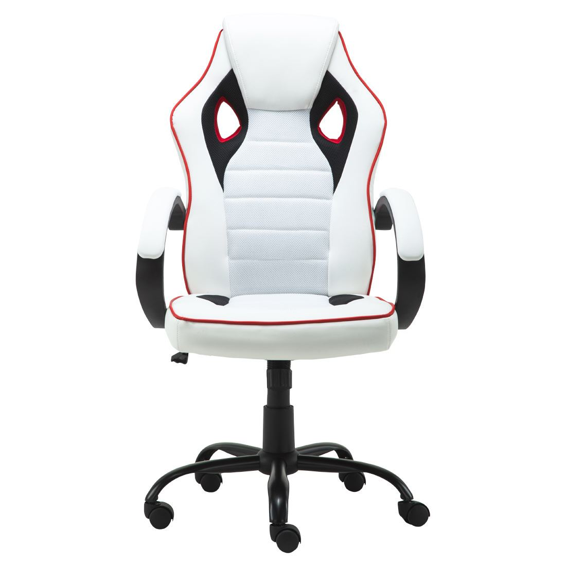 white mesh office chair uk hairdresser dimensions more4homes trax sports racing car