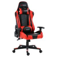 GTFORCE PRO FX RED RECLINING SPORTS RACING GAMING OFFICE ...