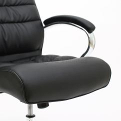 Posture Leather Chair Wooden Glider Cushions Mexico Premium High Back Executive Office