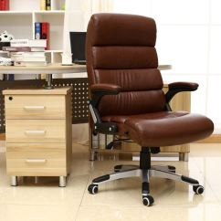 Luxury Desk Chairs Uk Wooden Slat Havana Reclining Executive Leather Office