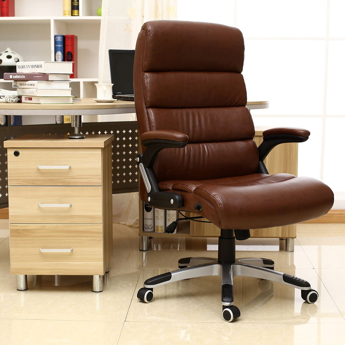 Luxury Office Chair Havana Luxury Reclining Executive Leather Office Desk