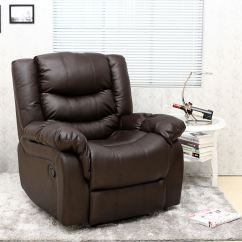 Brown Leather Recliner Sofa Uk Convertible Bunk Bed India Seattle Armchair Home Lounge